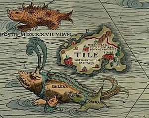 Thule Carta marina Olaus Magnus