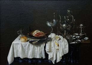 Willem Claeszoon Heda [GFDL (http://www.gnu.org/copyleft/fdl.html) or CC BY-SA 3.0 (http://creativecommons.org/licenses/by-sa/3.0)], via Wikimedia Commons